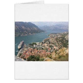 Cartão Kotor, Montenegro