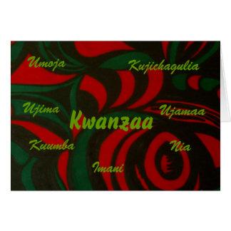 Cartão Kwanzaa