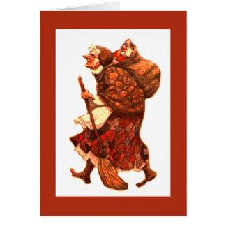 Cartão La Befana - Buon Natale