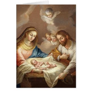 Cartão La Natividad
