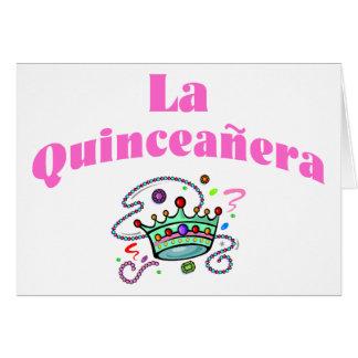 Cartão La Quinceanera