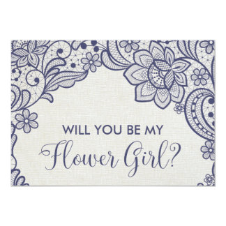 Cartão Laço de serapilheira e de marinho você será meu
