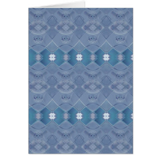 Cartão Laço irlandês - azul de Wedgewood