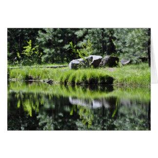 Cartão Lago aspen