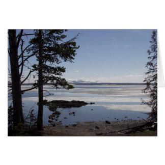 Cartão Lago Yellowstone