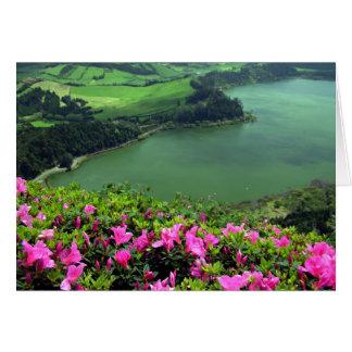Cartão Lagoa DAS Furnas - Açores