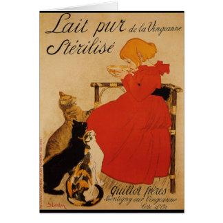 Cartão Lait Pur de la Vingeanne Sterilise