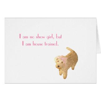 Cartão Lakeland Terrier