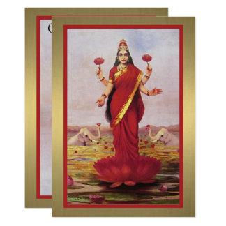 Cartão Lakshmi 1896