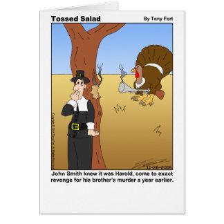 Cartão lanç da salada