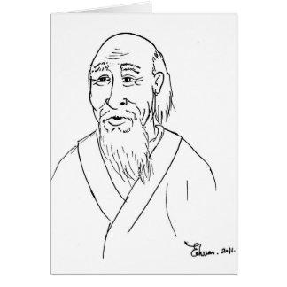 Cartão Lao Tzu