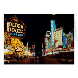Cartão Las Vegas 1960