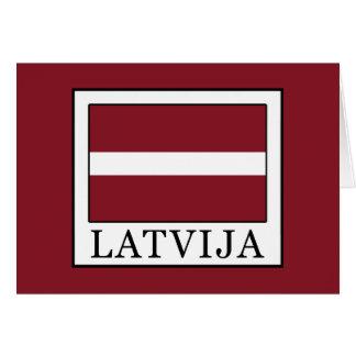 Cartão Latvija