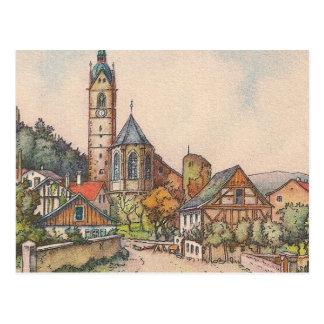 Cartão - Laufenburg, Waldshut, Alemanha