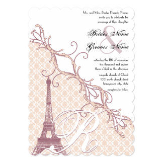 Cartão Lavanda da peônia da prata do damasco do vintage