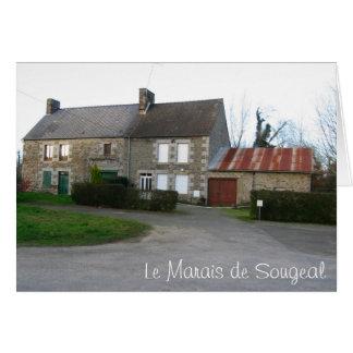 Cartão Le Marais de Sougeal, France