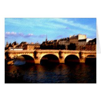 Cartão Le Pont Neuf
