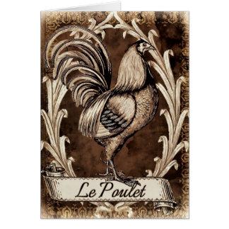 Cartão Le Poulet