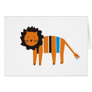 Cartão Leão,