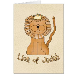 Cartão Leão de Judah