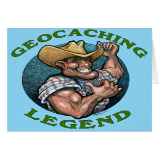 Cartão Legenda de Geocaching
