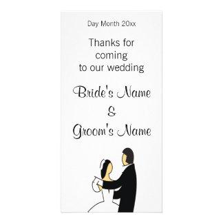 Cartão Lembranças do casamento, presentes, ofertas para