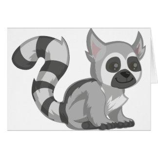 Cartão Lemur