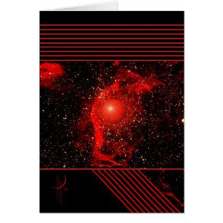 Cartão Lenço vermelho