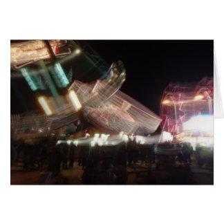 Cartão lento do carnaval do obturador