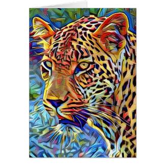 Cartão Leopardo