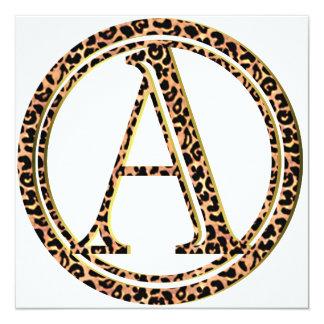 Cartão leopardo A