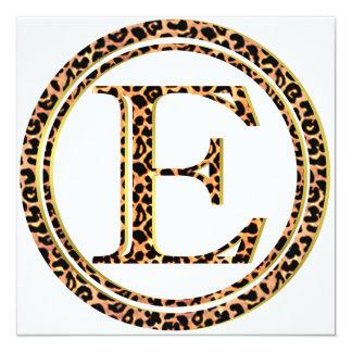 Cartão leopardo E