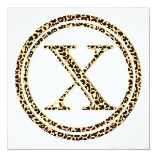 Cartão Leopardo X