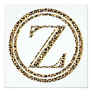 Cartão Leopardo Z
