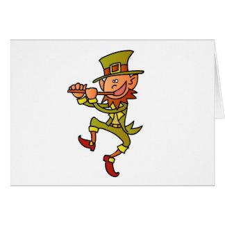 Cartão leprechaun
