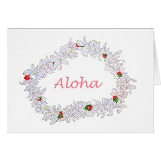 Cartão Leus de Aloha