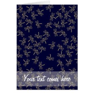 Cartão libélulas