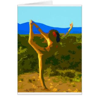 Cartão Liberdade da ioga