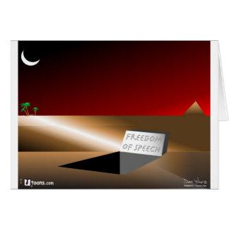 Cartão Liberdade de expressão