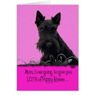 Cartão Licença de Licker do dia das mães de Ashton