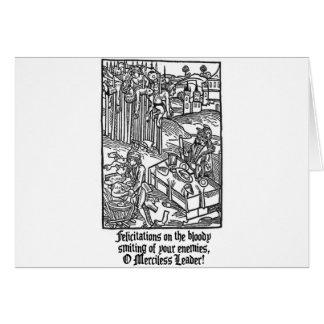 Cartão Líder implacável de O