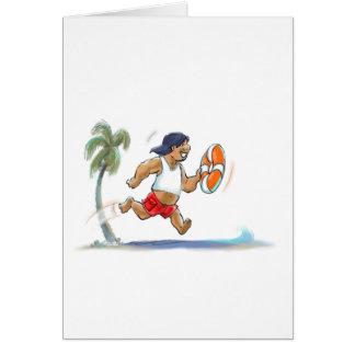 Cartão LiFeGuArD havaiano