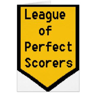 Cartão Liga de marcadores perfeitos (LPS)
