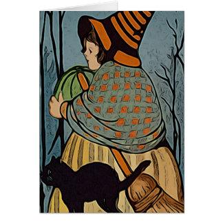Cartão Lil Witchy