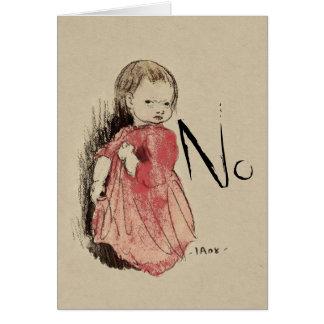 Cartão Lillan não diz nenhum Ivar Arosenius CC0993