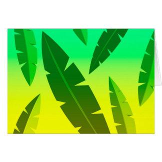 Cartão limão tropical