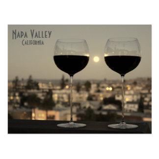 Cartão lindo de Napa Valley!