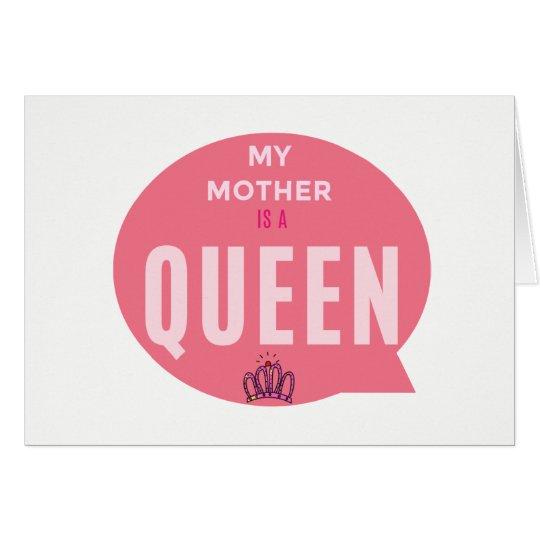 Cartão lindo para presentear sua mãe!