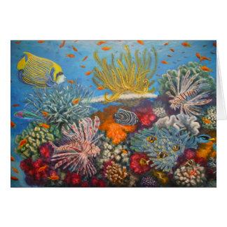 Cartão lionfishpainting