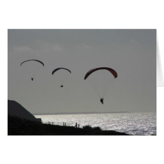Cartão liso - Paraglider